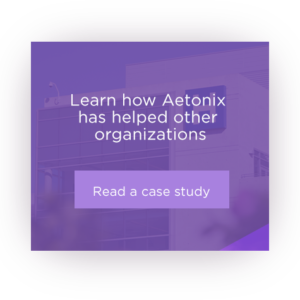 Case Study Square. Learn how Aetonix has helped other organizations. Click to read a case study.