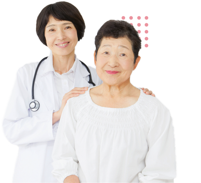 Doctor helping a patient with a chronic disease manage their condition